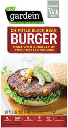 Gardein Burger Chipotle Black Bean