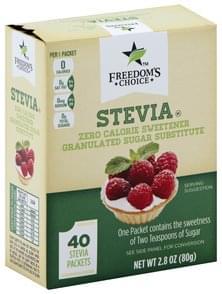 Freedoms Choice Stevia