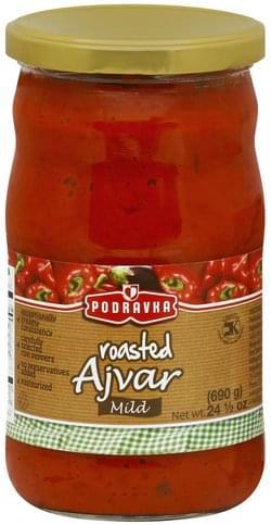 Podravka Roasted, Mild Ajvar - 24.5 oz