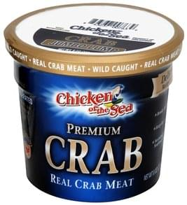 Chicken of the Sea Real Crab Meat Jumbo Lump, Premium