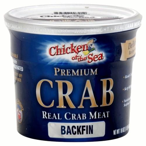 Chicken of the Sea Backfin Real Crab Meat - 16 oz