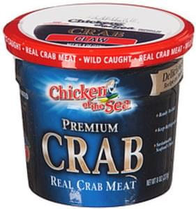 Chicken Of The Sea Meat Real Premium Crab