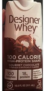Designer Whey Gourmet Chocolate Protein Shake