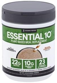 Designer Protein Meal Replacement Plant-Based, Belgian Chocolate, Powder