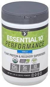 Designer Protein Plant Protein & Recovery Superfoods Powder, Vanilla