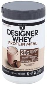 Designer Protein Protein Meal Milk Chocolate, Powder