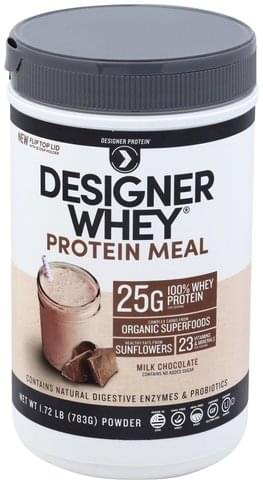 Designer Protein Milk Chocolate, Powder Protein Meal - 1.72 lb