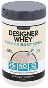Designer Protein Meal Replacement Protein Meal, Vanilla Bean, Powder