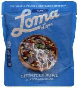 Loma Linda Chipotle Bowl with Black Beans, Blue