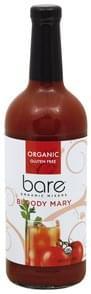 Bare Mixers Organic, Bloody Mary