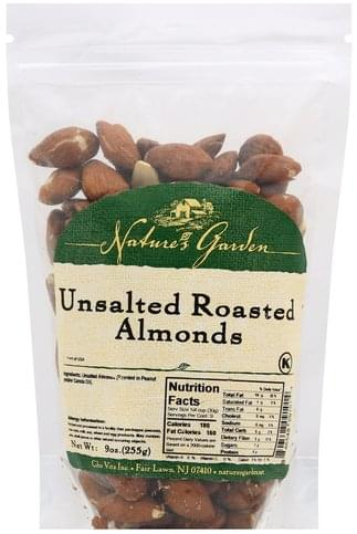 Natures Garden Unsalted, Roasted