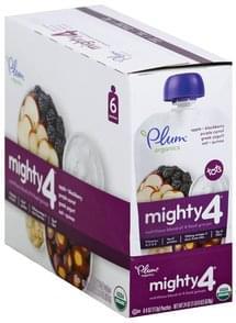 Plum Nutritious Blend Apple, Blackberry, Purple Carrot, Greek Yogurt, Oat, Quinoa