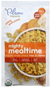 Plum Mac & Cheese Organic Whole Wheat, Cheesy Sweet Potato