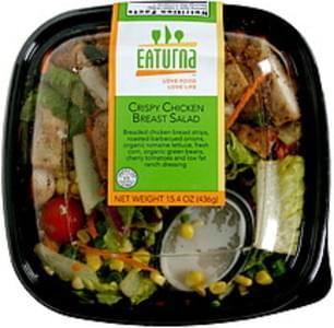 Eaturna Crispy Chicken Breast Salad
