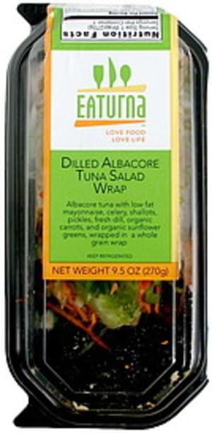 Eaturna Dilled Albacore Tuna Salad Wrap - 9.5 oz