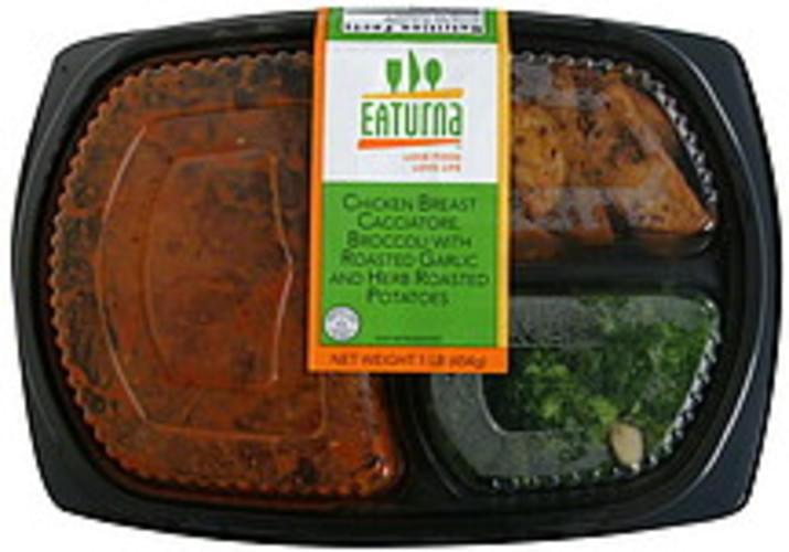 Eaturna Chicken Breast Cacciatore - 16 oz