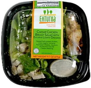 Eaturna Caesar Chicken Breast Salad with Eaturna Lowfat Dressing