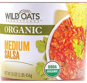 Wild Oats Marketplace Organic Medium Salsa