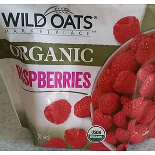 Wild Oats Marketplace Organic Raspberries - 140 g