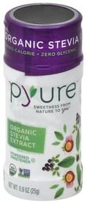 Pyure Stevia Organic, Extract, Powdered