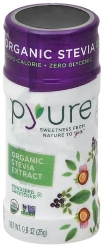 Pyure Organic, Extract, Powdered Stevia - 0.9 oz