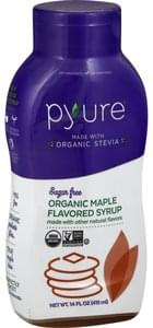 Pyure Syrup Organic, Sugar Free, Maple Flavored