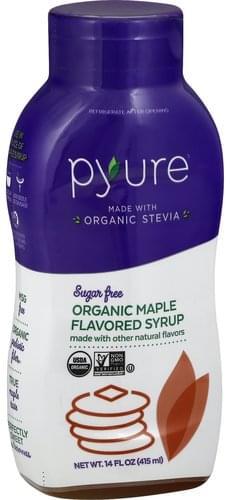 Pyure Organic, Sugar Free, Maple Flavored Syrup - 14 oz