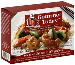 Gourmet Today Stir Fried Chicken with Vegetables