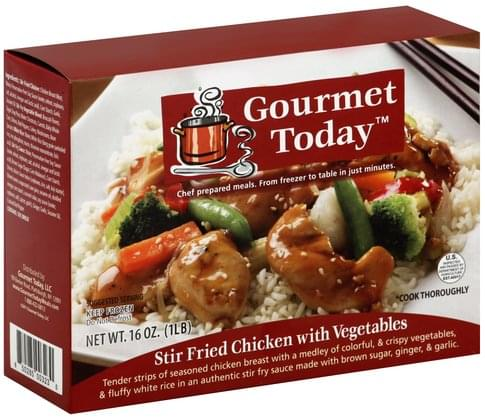 Gourmet Today Stir Fried Chicken with Vegetables - 16 oz