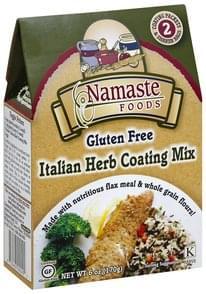 Namaste Foods Coating Mix Gluten Free, Italian Herb
