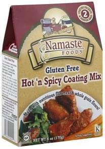 Namaste Foods Coating Mix Hot 'N Spicy