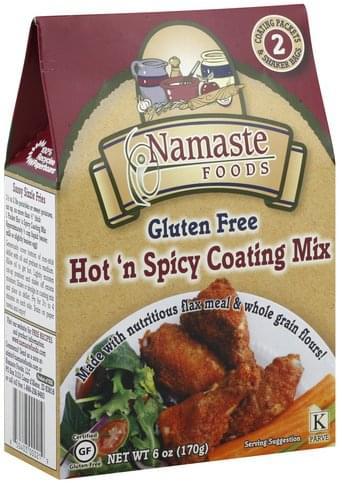 Namaste Foods Hot 'N Spicy Coating Mix - 6 oz