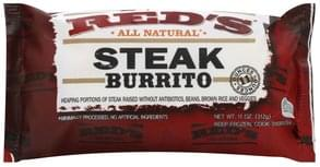 Reds Burrito Steak