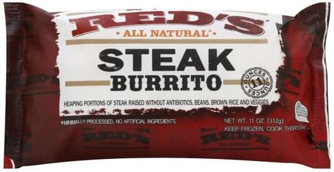 Reds Steak Burrito - 11 oz