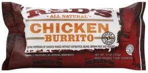 Reds Burrito Chicken