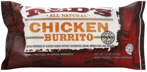 Reds Chicken Burrito - 11 oz