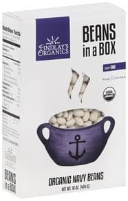 Findlays Organics Navy Beans Organic