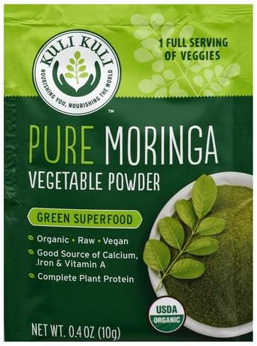 Kuli Kuli Pure Moringa Vegetable Powder - 0.4 oz