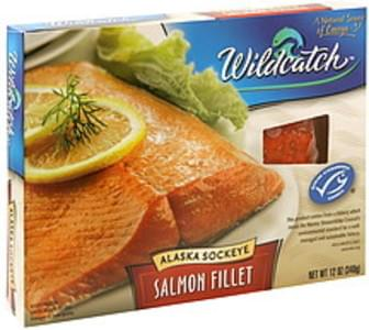 Wildcatch Alaska Sockeye Salmon Fillet