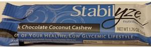 Stabilyze Dark Chocolate Coconut Cashew
