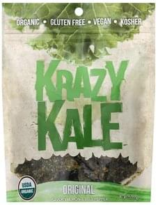 Krazy Kale Kale Chips Original, Savory Lemon & Bell Pepper