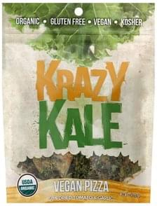 Krazy Kale Kale Chips Vegan Pizza, Sun-Dried Tomato & Garlic