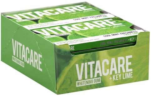 Vitacare Whitening, +Key Lime Gum - 1 ea