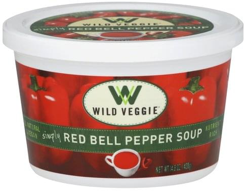 Wild Veggie Simply Red Bell Pepper Soup - 14.8 oz