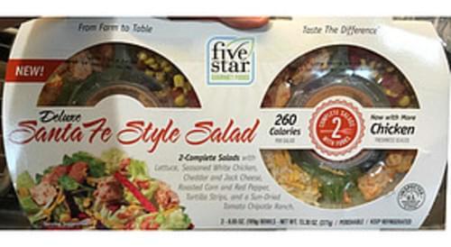 Five Star Gourmet Foods Deluxe Santa Fe Style Salad - 189 g