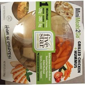 Mini Meals 2 Go Grilled Chicken + Hummus