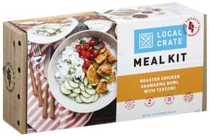 Local Crate Meal Kit Roasted Chicken Shawarma Bowl with Tzatziki