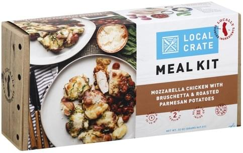 Local Crate Mozzarella Chicken with Bruschetta & Roasted Parmesan Potatoes Meal Kit - 32 oz