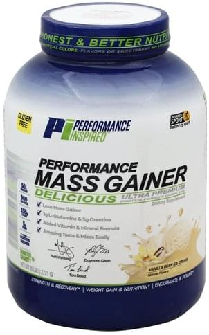 Performance Inspired Protein, Vanilla Bean Ice Cream Powder Drink Mix - 6 lb