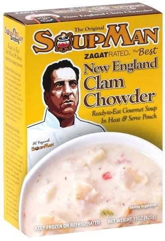 Soup Man New England Clam Chowder - 15